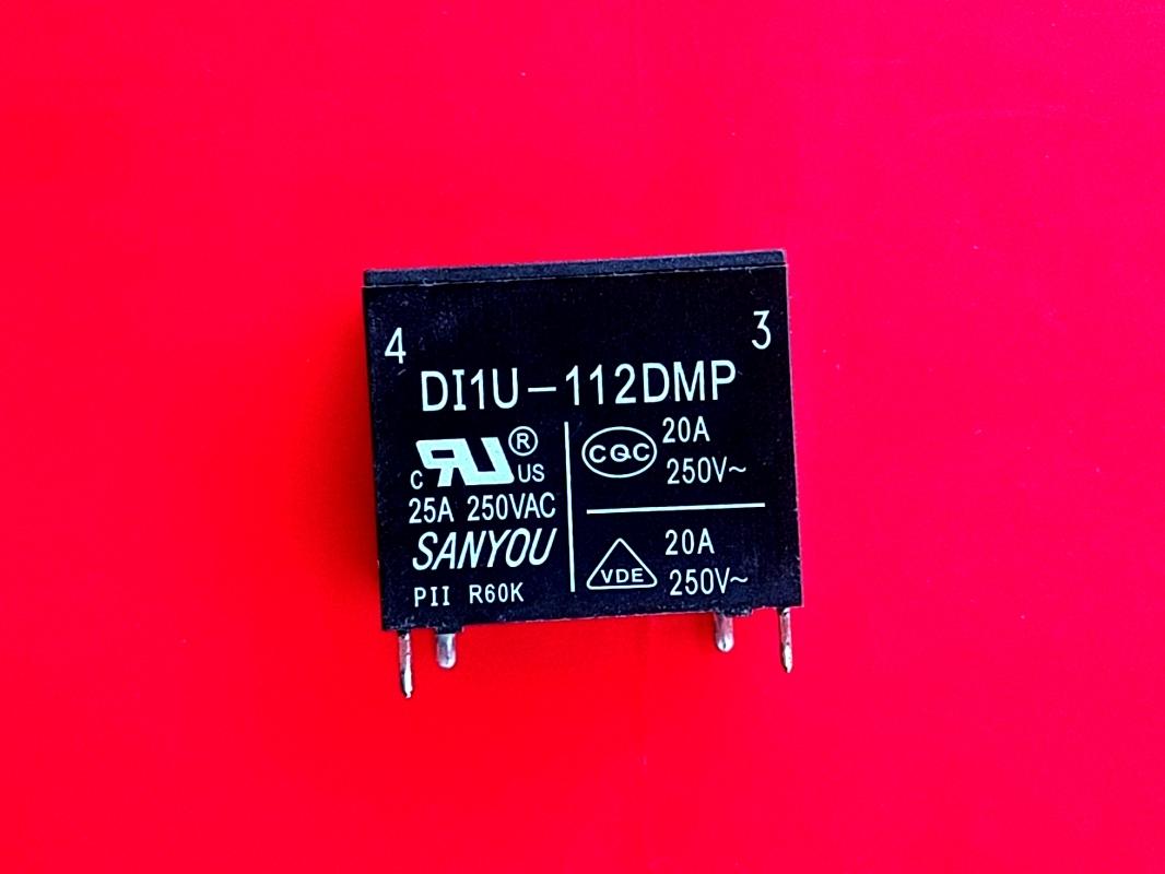 1PCS DI1U-112DMP 12VDC Relay,SANYOU Brand New