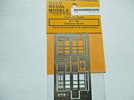 Gold Medal Models # 87-08 Telephone Booths HO-Scale image 3
