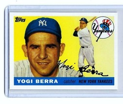 YOGI BERRA - NEW YORK YANKEES - 1955 TOPPS - CARD #198 - Reprint CMT62 - $3.95