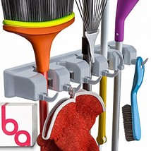 Berry Ave Broom Holder and Garden Tool Wall Mount, Organizer for Rake or... - $14.59