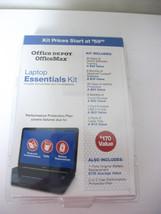 OFFICE DEPOT LAPTOP ESSENTIALS KIT $170 VALUE TRAINING LOJACK PROTECTION... - $14.99
