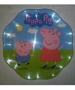 Peppa Pig Plate Break Resistant & BPA-free plastic Zak! Designs - $7.91