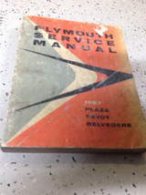 1957 Plymouth Plaza Savoy Belvedere Service Shop Workshop Repair Manual ... - $20.79