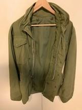 Vtg 60s Vietnam US Army M-65 Field Jacket Military Coat Regular small - $108.90