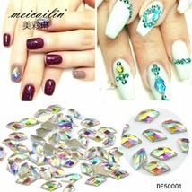 10pcs/set Diamond Rhinestones For Nails 3d Nail Art Decorations Glitter ... - $4.45