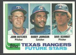 Texas Rangers Future Stars 1982 Topps Baseball Card 418 nm   - $0.40