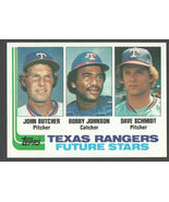 Texas Rangers Future Stars 1982 Topps Baseball Card 418 nm   - $0.40