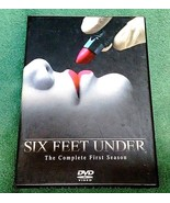 SIX FEET UNDER THE COMPLETE FIRST SEASON 4 DVD CAST PICTURED NICE DELUXE... - $2.75