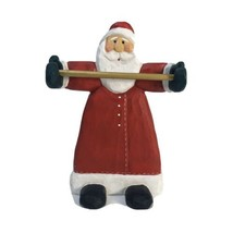 "Wooden Santa Towel Rack  8"" x 6""  - $14.85"