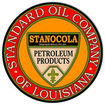 Standard Oil Company Gas Station Reproduction Sign 14x14 - $25.74