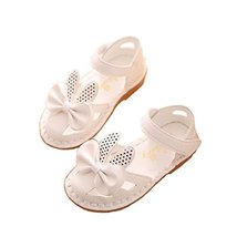 Girls Princess Shoes Summer Children's Shoes Fish Mouth Open Toe Sandals image 1