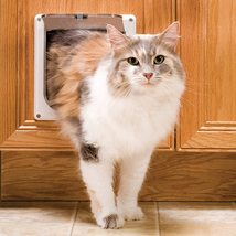PetSafe Interior Cat Doors - 2-Way Locking Door-  For Cats Up to 15 lb - $19.95