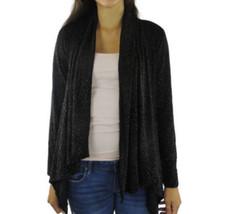 Ellen Tracy Women's Sparkle Cardigan Medium Black Gold - MSRP $99.50/Shi... - $27.61