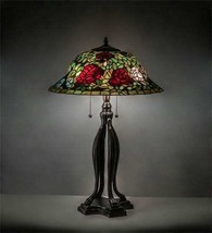 Tiffany Style Rosebush Table Lamp - $1,611.72