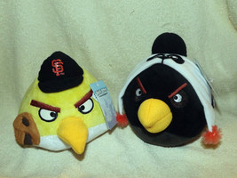 Lot Of 2 Angry Birds San Francisco Giants Plush Doll MLB Baseball NWT (A) - $26.13