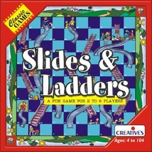 Creative Educational Classic Games Slide And Ladders - $14.69