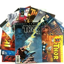 Thor Comic Book Lot 12 Issues Marvel VF NM Heimdall Ragnarok Mephisto Balder - $19.75