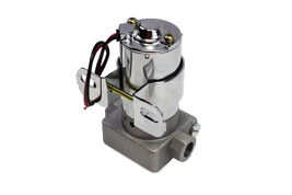 A-Team Performance 30-155 Electric Inline Fuel Pump 12V 155 GPH at 14PSI Chrome image 5