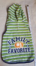 Small Dog Sweater For dogs or cats 'family #1 favorite' by simply dog pr... - $10.39