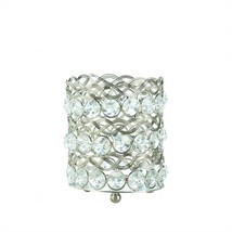 Gold Eternity Small Glass Candle Holder - £8.52 GBP