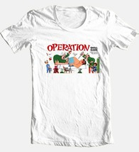 Operation T shirt retro board game 80s vintage toys 100% cotton white tee image 2
