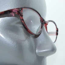 Funky Oval Hot Cat Reading Glasses +1.25 Lens Pink Black Lightweight Frames - $14.97