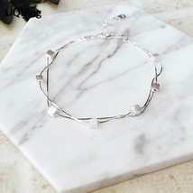 2016 New Fashion 925 Sterling Silver Bracelet For Women Double Box Bracelet Char - $10.73