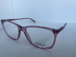 New Polo Ralph Lauren PH 2138 PH2138 5220 53mm Rx Berry Eyeglasses Frame - $133.05