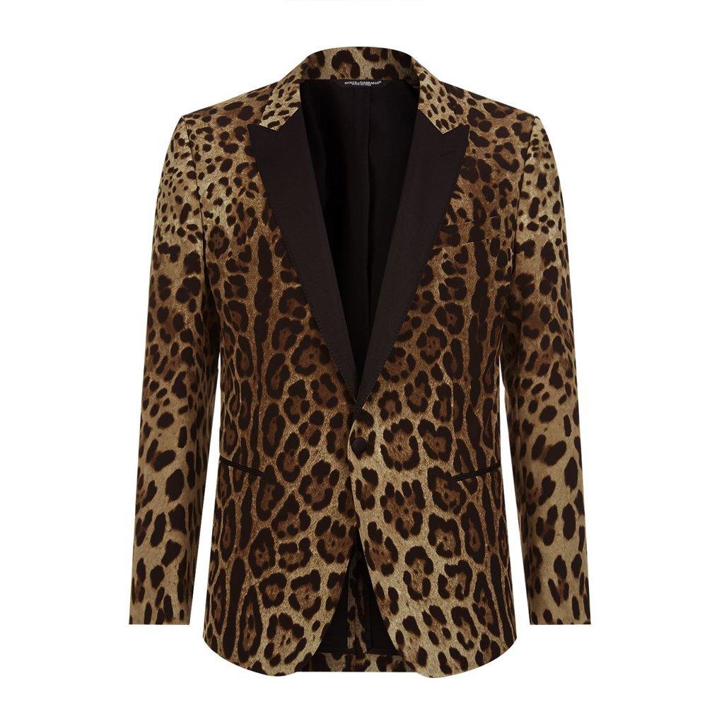 Leopard print martini jacket 000000005567203001