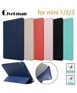 Civetman® Case For IPad Mini 3 2 1 Case PU Leather Silicone Soft - $9.67