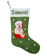Doodle Dog Christmas Stocking - Personalized and Hand Made Doodle Stocki... - $30.40+