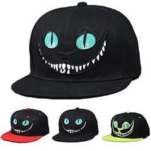 CREA Alice's in the Wonderland Cheshire Cat Black w/ embroidered Cap  un... - $57.00