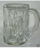 Anchor Hocking Cut Olive Pattern 13-oz Glass Mug - $7.87