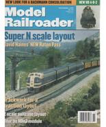 Model Railroader Magazine November 1999 H0 4-8-2/ Super N Scale Layout - $2.50