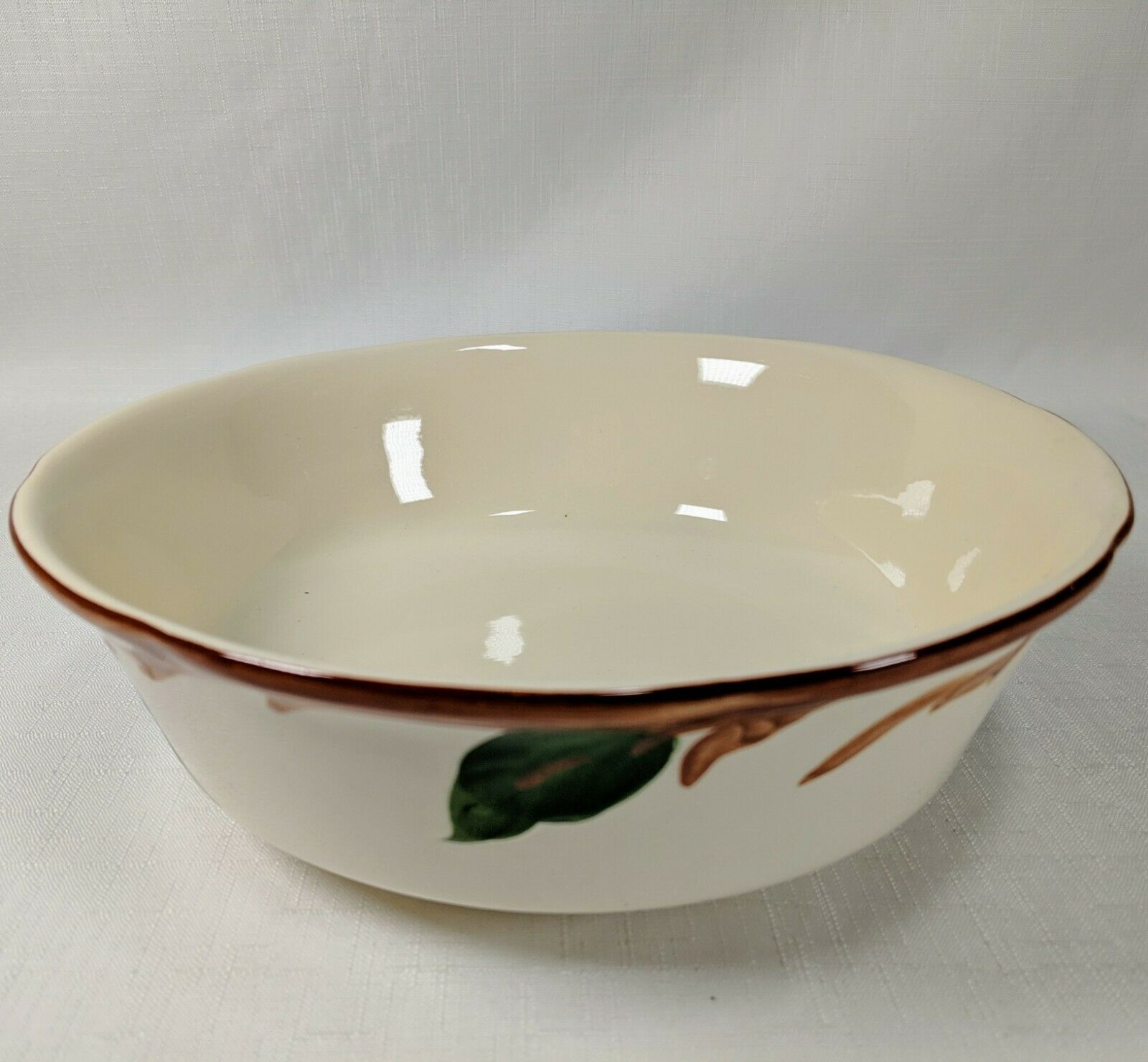 "Franciscan APPLE Serving Bowl Platter 9"" x 2.75"" by Gladding McBean"