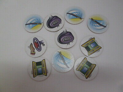Milton Bradley Wheels on the Bus game replacement game tokens - $4.90