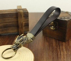 Limited Edition Dragon Fob Solid Brass key chai... - $37.99