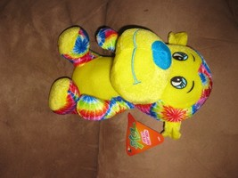 "TIE-DYE Monkey Brand New Plush Nwt Stuffed Animal W Tags 10"" Sugar Loaf Colorful - $9.99"
