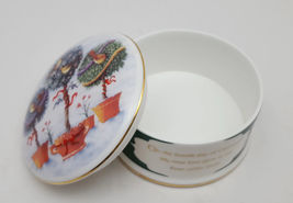 Wedgwood 4 Collie Birds Twelve Days Of Christmas Bone China Trinket Box image 3