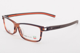 Tag Heuer 7604 002 Track Brown Havana Orange Eyeglasses 7604-002 56mm - $195.02