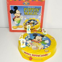 Parker Brothers Mickey Mouse Poppin' Magic Game Complete Disney Vintage 90s - $49.45