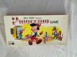 Vintage 1971 Walt Disney Pinocchio Tavola Gioco Completo No 162 Parker B... - $22.27
