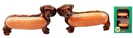 Ebros Doxies Collection Hot Dog Sausage Wiener Dachshunds Salt And Peppe... - $15.83