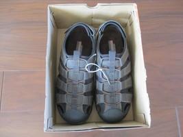 BNIB Skechers Garver Liveoak Mens Fisherman sandals, 64382, Size 10M, Br... - $44.55