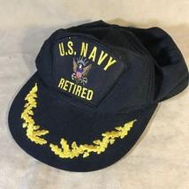 US Navy Retired Vintage SnapBack Hat - $12.86