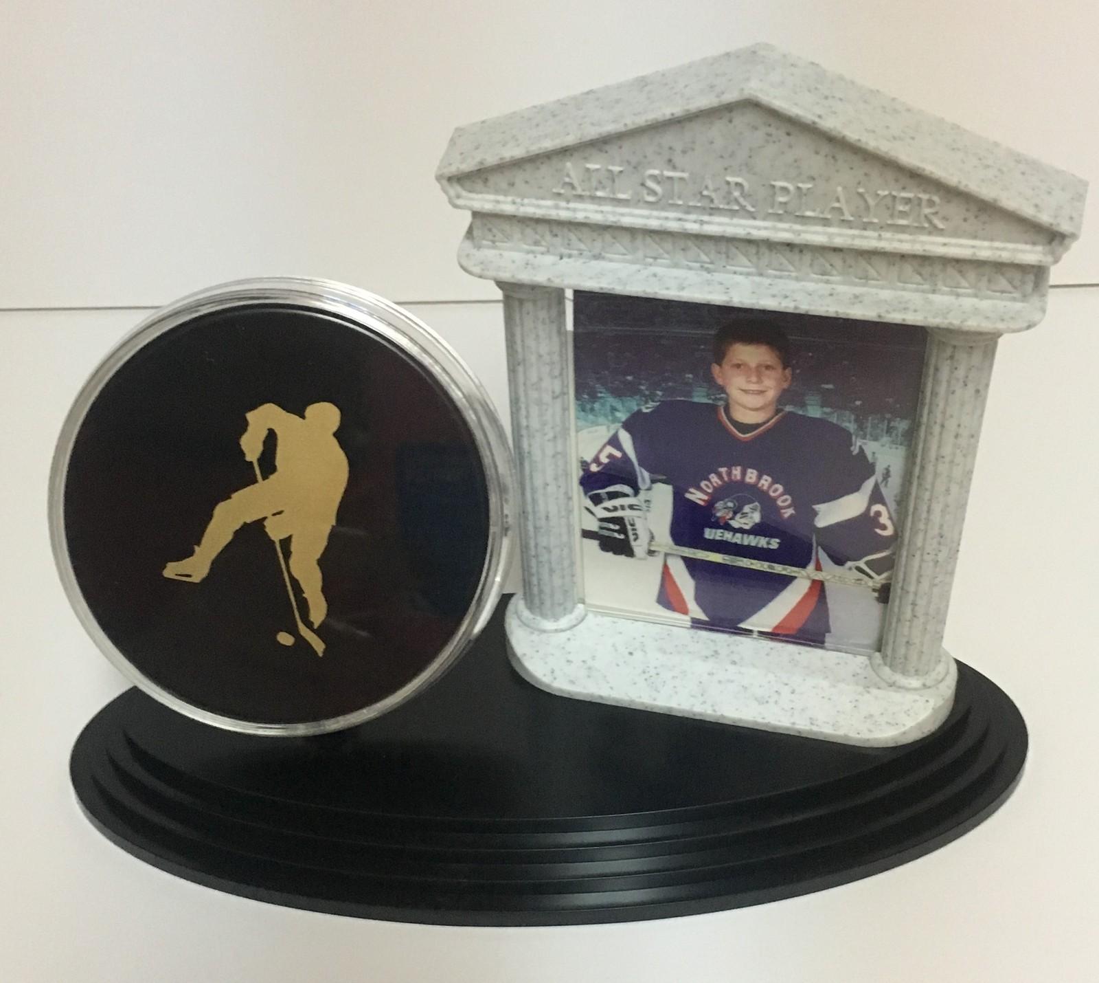 "Hockey All Star Player Photo Frame & Stand 3"" x 2.5"" Photo"