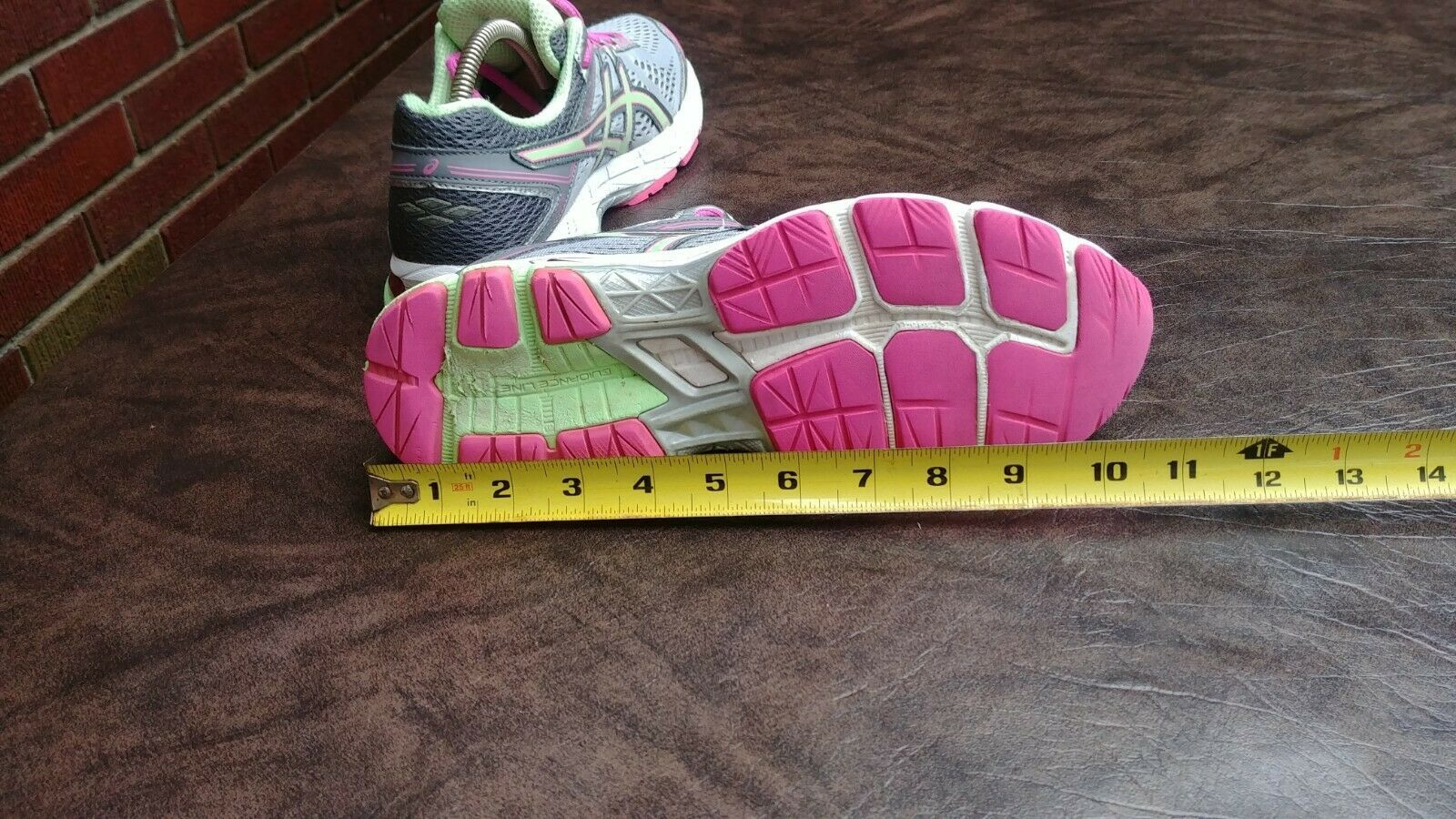 Womens Asics GT 1000 4 Running Shoes SZ 8 39.5 Used t5a7n Sneakers Trainers image 10
