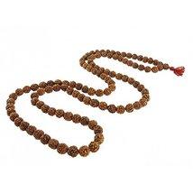 Ankita Gemstones 5 Face Rudraksha Mala, Mukhi Jaap Mala , 5Mm-6Mm Natura... - $19.00