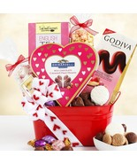 Chocolate Lovers: Valentine's Day Gift Basket - £58.72 GBP