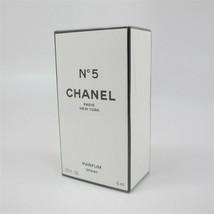 Chanel No.5 By Chanel 6 ml/ 1/5 Oz Parfum Spray Nib Vintage - $108.89